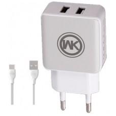Φορτιστής Κινητού/Tablet WK Design Blanc WP-U11 Λευκό